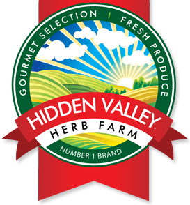 Hidden Valley Herb Farm Logo
